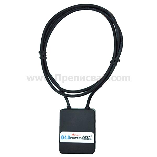 bluetooth предавател с 4 watt усилвател se502 черен цвят 03