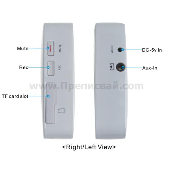 MP3 Player управление